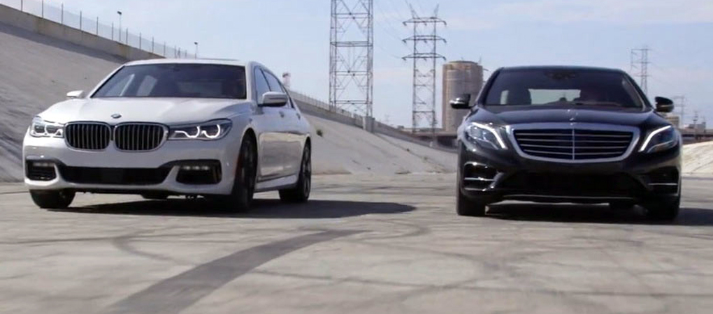 BMW 7 series vs Mercedes-Benz S-class review