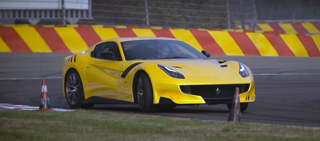 Chris Harris From Top Gear Mesmerized By Ferrari F12tdf Savagery