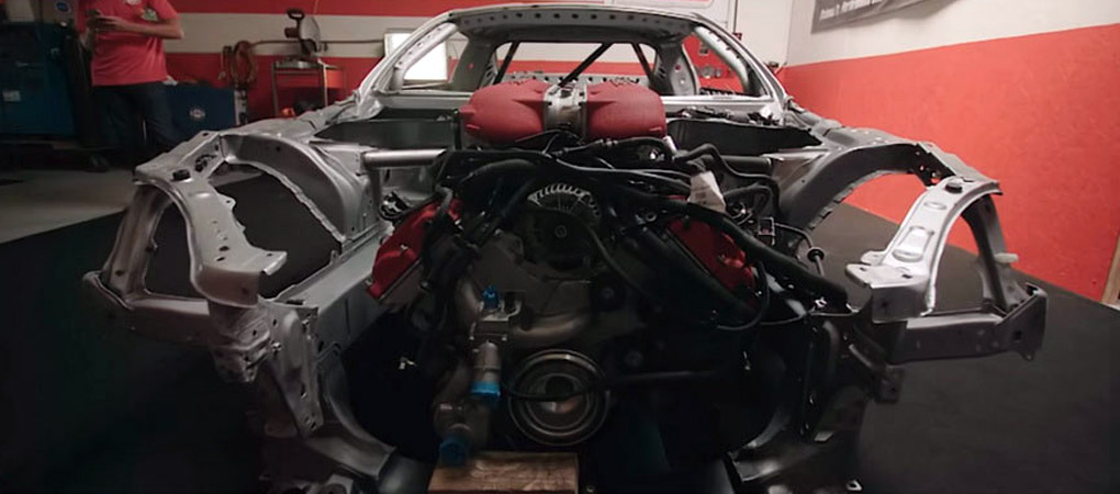 Professional Drifter Wants To Integrate A Ferrari 458 Engine Into A Freaking Toyota 86