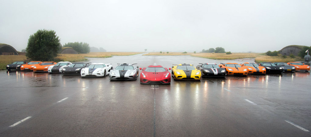 Owner's Tour Brings More Than 10 Percent Of All Of Koenigsegg Production In One Place