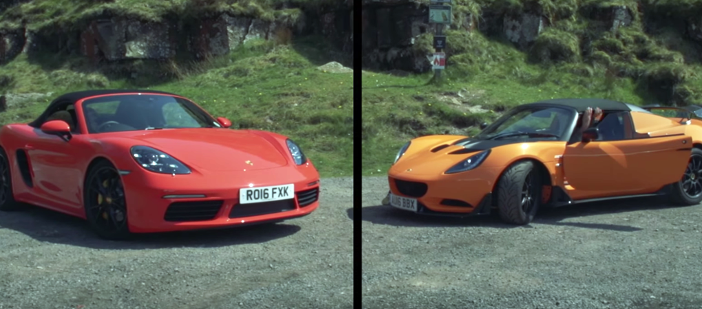 No One Expected Comparison Between the Lotus Elise Cup and The Porsche 718 Boxster