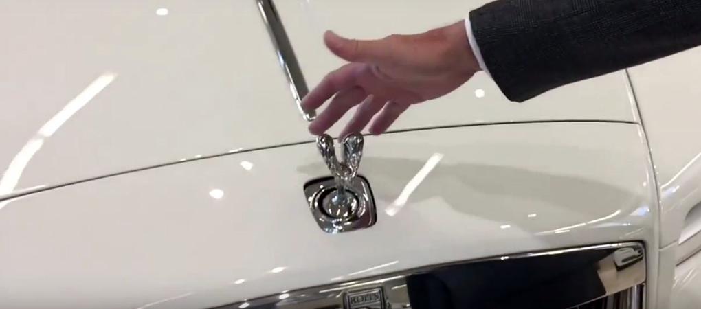 Rolls Royce Spirit Of Ecstasy Cannot Be Stolen Easily