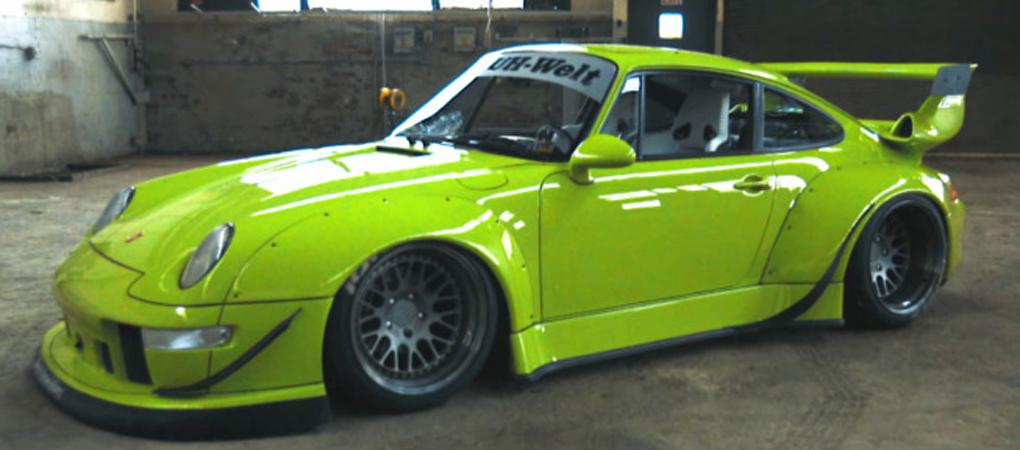 Birth Of The RAUH-Welt Begriff Porsche Is A Form Of Art