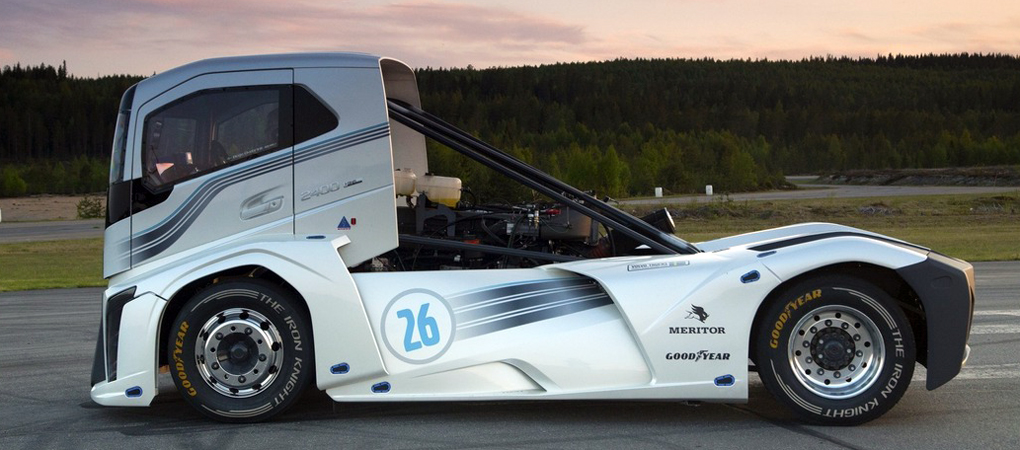Volvo Made The Fastest Truck Called The Iron Knight And It's Fascinating