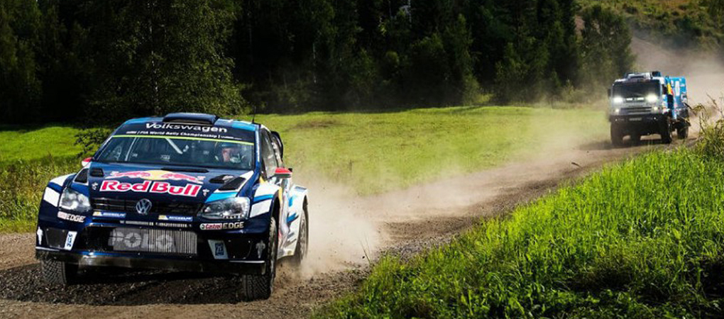 Kamaz Dakar Winner Truck Hunts Down Polo WRC R In This Incredible Epic Video