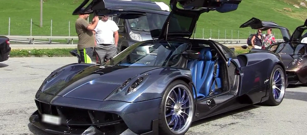 Pagani Huayra Futura Shown For The First Time In All Its Glory