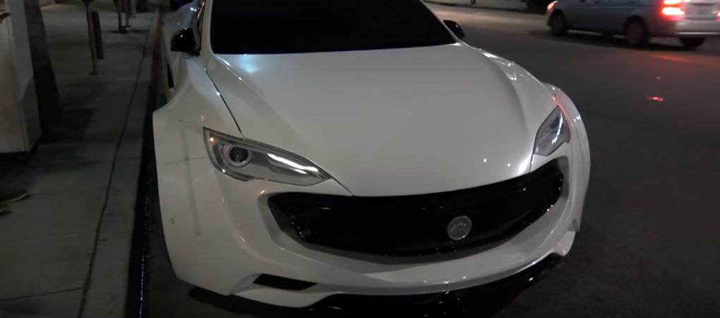 Crazy Will.I.Am Tesla Model S Defies Reason