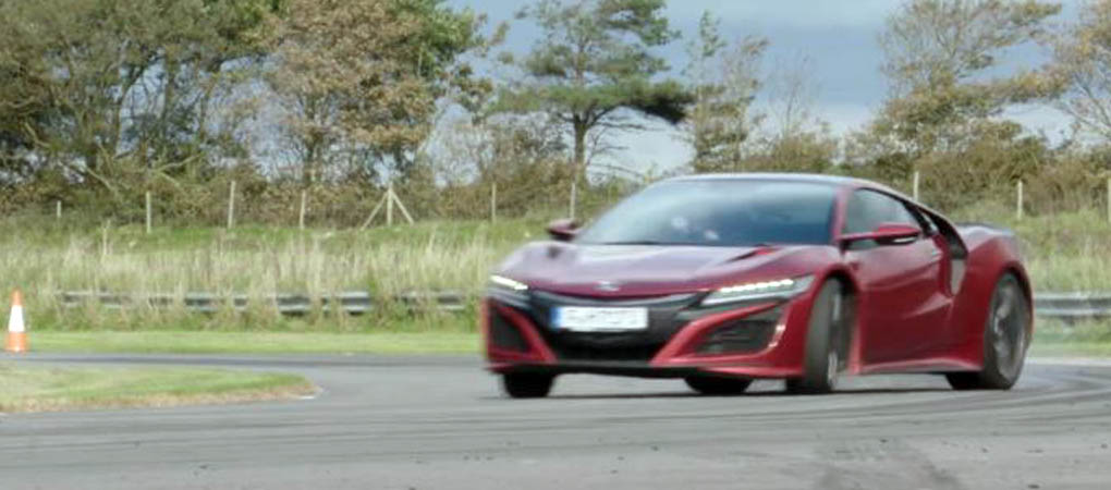 Newest Acura NSX Can't Come Close To The Germans On Track