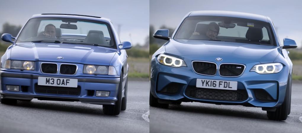 Six Ways The New M2 Is Just Like An Old BMW M3 E36 From The Nineties