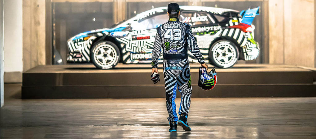 Behind The Scenes Of The Gymkhana In 360 Degrees
