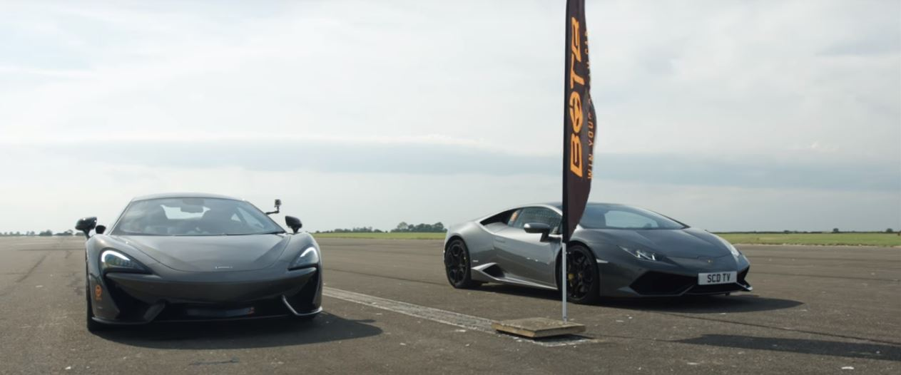 Nine Supercar Drag Race From UK Shows Some Incredible Results