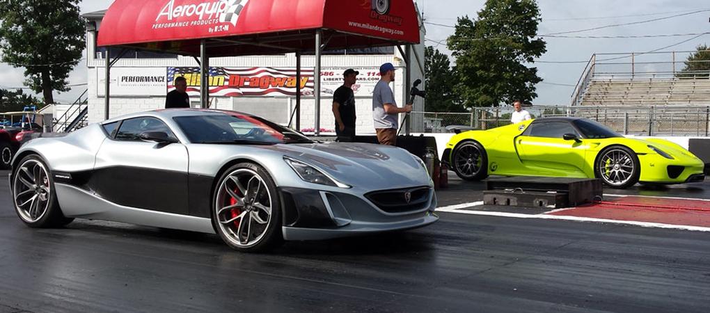 Rimac Concept_One Found Its Match In Porsche 918 Spyder?